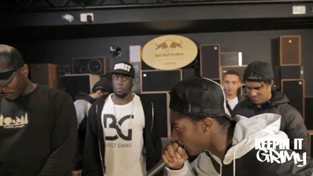 Red Bull 'Grime-A-Side' – Quarter Final 2 NOTTS VS MANNY