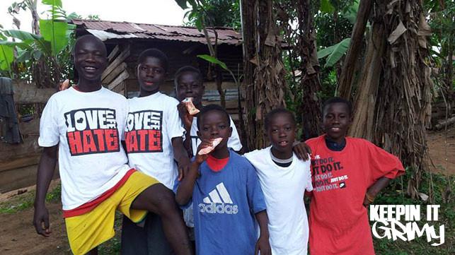 Menace raising money to travel to Ghana for charitable work