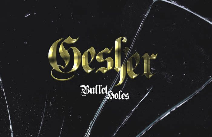 RELEASE: Gesher pops off with new single 'Bullet Holes'.