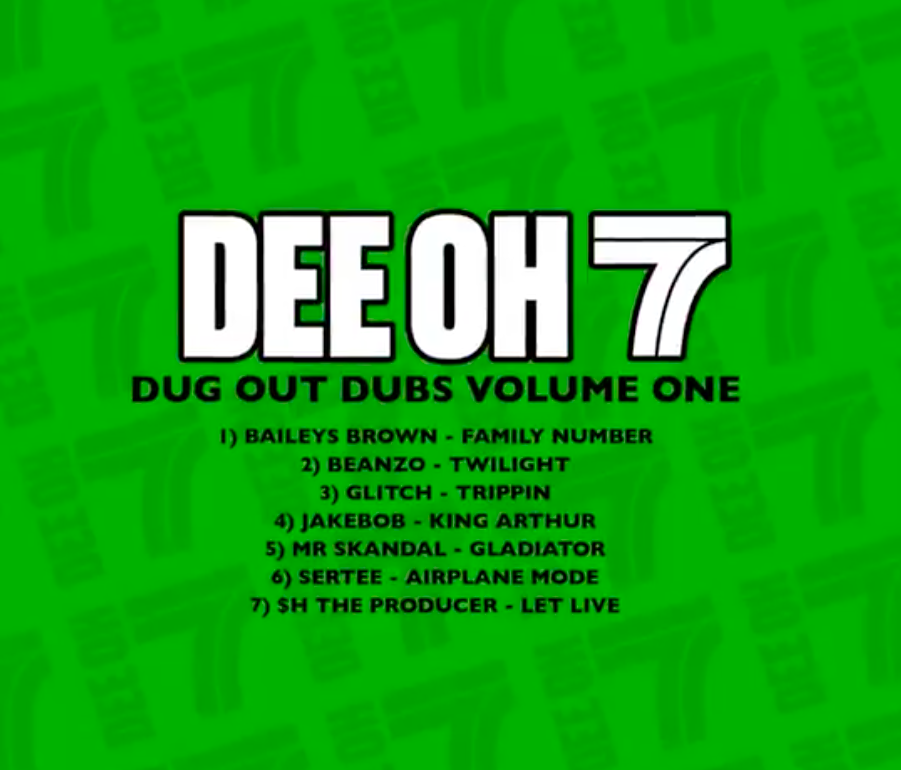 RELEASE: Dee Oh 7 dish out new EP 'Dug Out Dubs Volume One'.
