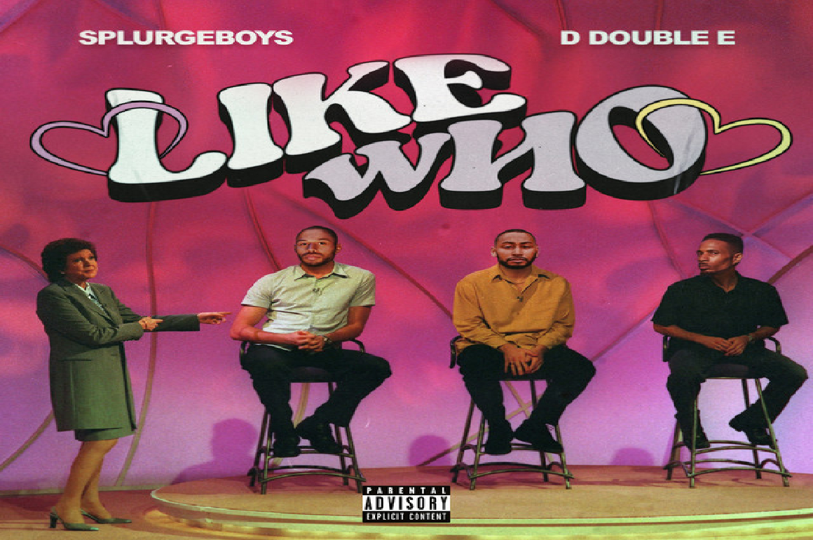 VIDEO: D Double E and Splurgeboys ask 'Like Who'? in lively video featuring Kadey James