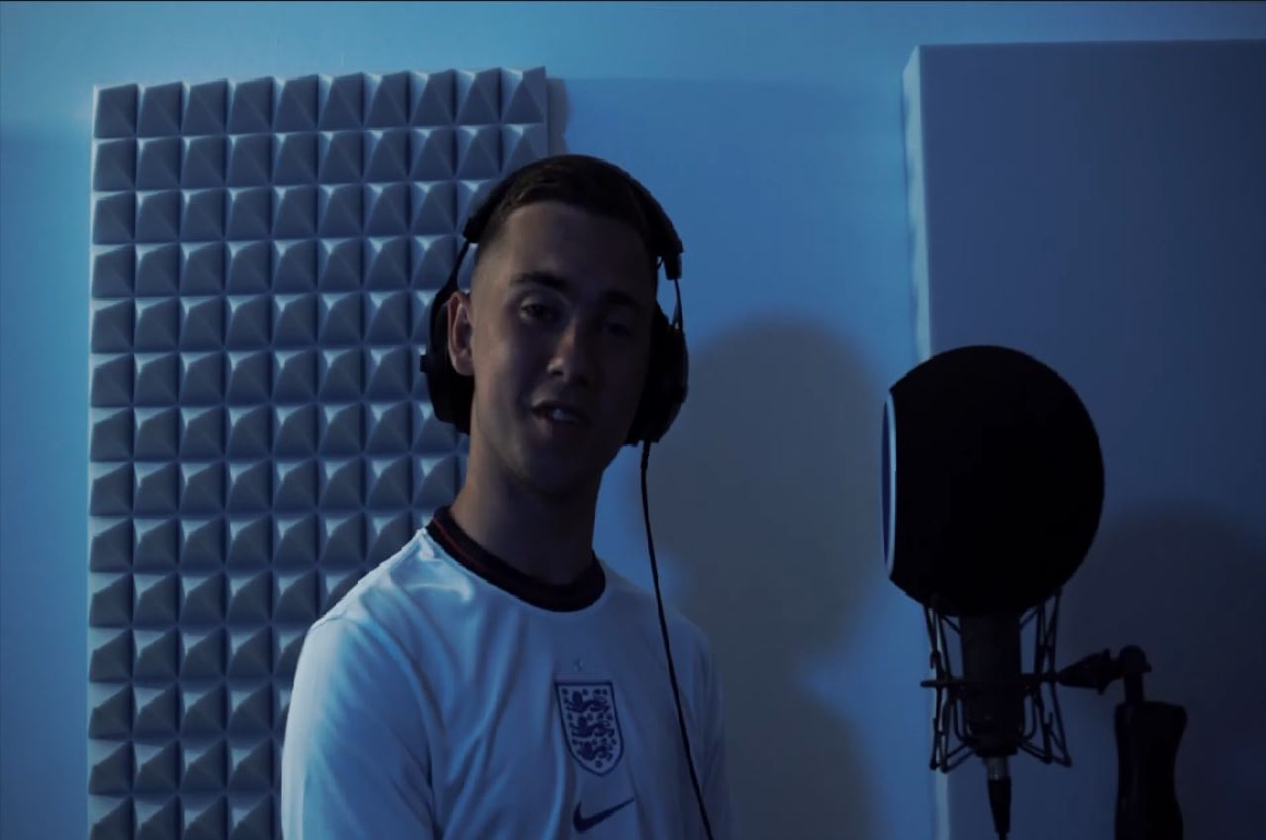 VIDEO: Tommy B rallies the England spirit with 'Euro Freestyle'