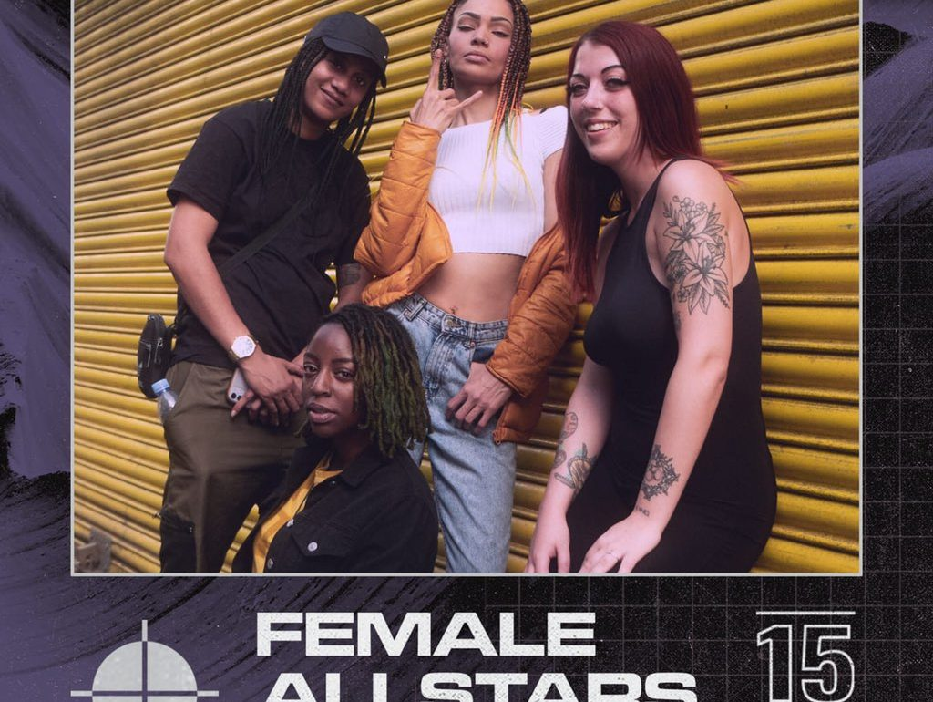 EXCLUSIVE: KIG Interviews Female AllStars backstage at Trillary Banks' show